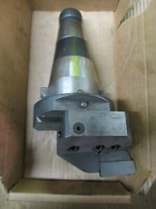 Wohlhaupter Boring Head On Cat 50 taper Tool Holder Free Shipping
