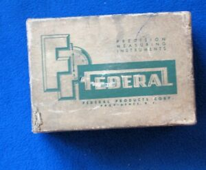 Federal Dial Indicator Model C5m With Box Full Jeweled 0005