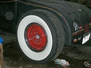 Rat Hot Rod Gasser Paint Wide White Wall Tires Chevy 41 46 47 48 55 56 58 Truck