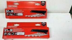 New Craftsman 10 Pc Ratchet Wrench Set Sae Metric cmt99756 99755 F ship