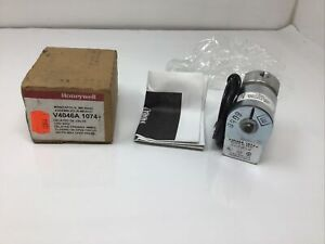 Nos New Honeywell Magnetic Valve V4046a 1074 Free Ship