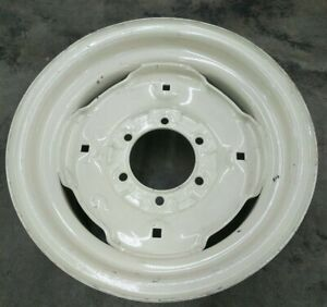 16x8 Sma Canada 6 Bolt Wheel For Agricultural Farm Tractor Implement Heavy Duty