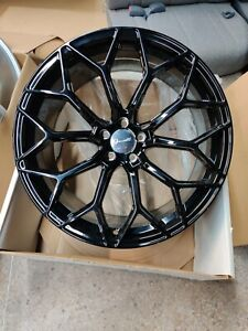 4 Gianelle Monte Carlo Blk Wheel 22x9 10 5 Blank For Any Car Giovanna Forgiato
