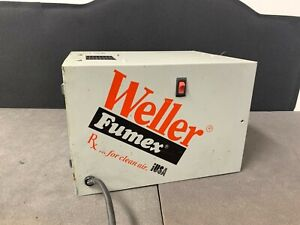 Weller Fumex Wrx1 Fume Extractor Station 115v Ph1 1 37a 60hz Nice Unit Deal
