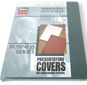 New Ibico Presentation Covers 11 1 4 X 8 3 4 Business Series 25329 Forest Grn