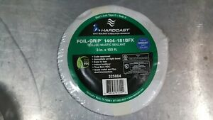 Foil grip 1404 181bfx 2 In X 100 Ft Silver Aluminum Rolled Duct Sealing Tape