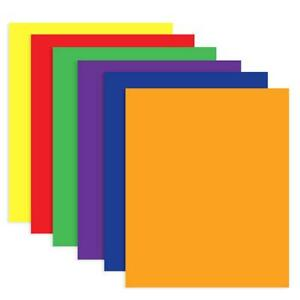 Portfolios Folder 2 pockets Assorted Colors