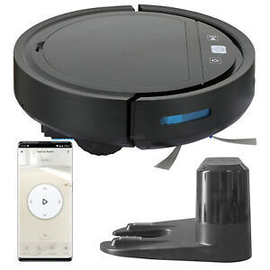 Vacuum Robot Wifi Smart Floor Cleaning Mop Sweeper Machine Self Auto charge Base