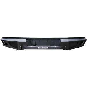 Go Rhino Br20 Textured Steel Rear Bumper Replacement For Dodge Ram Trucks used