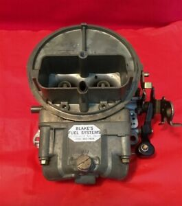 Holley 350cfm 2 Barrel Carburetor Rebuilt By Blakes List 7448 Manual Choke