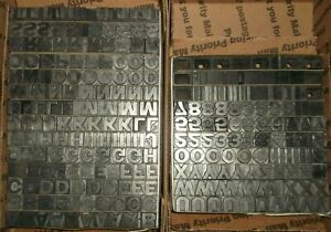 Vintage 36pt Title Gothic No9 Keystone Foundry Type Letterpress Printing Antique