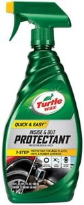 New Turtle Wax Step Wax Dry 26 Oz quick Easy Spray Wax For Car Care