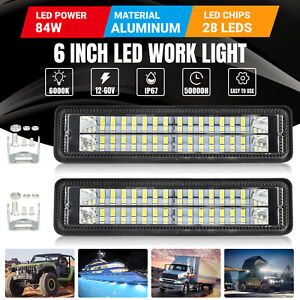 4x 9003 H4 Led Headlight Bulb Kit High Low Beam Super Bright 100w 28000lm 6000k
