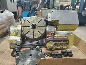 12 Nikken Cnc Trunnion Rotary Table_4th 5th Axis With Independent Controller