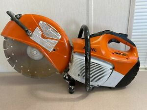 2019 Stihl Ts 420 14 Concrete Cut Off Saw Blade Water Kit 67cc