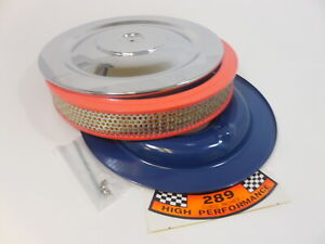 1965 1973 Hipo Air Cleaner Shelby Mustang Fairlane Falcon 289