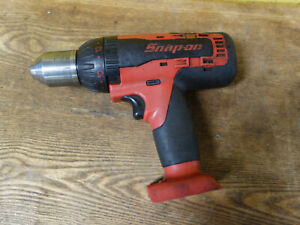 Snap on Cordless Hammer Drill Cdr8850h 1 2 13mm 18v Bare Tool Only