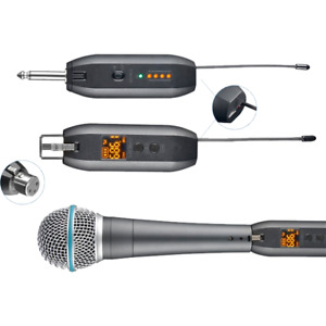 Microphone Wire to Wireless System 1 4 Jack Adapter $73.99