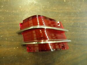 Nos Oem Ford 1965 Mercury Comet Tail Light Lamp Lens Cyclone Corner Caliente