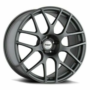 20 Tsw Nurburgring 20x8 5 Matte Gunmetal 5x108 Wheel 40mm Rim