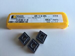 Kennametal Cnmg 432mg Turning Kc7310 Inserts 5 Inserts As Shown