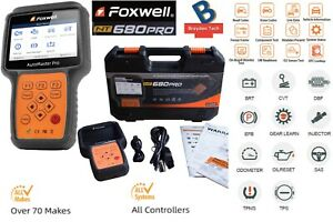 Foxwell Nt680pro All system Diagnoses W Dpf Epb Sas Srs Oil Light service Reset