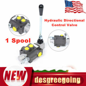 Adjustable 1 Spool Hydraulic Directional Control Valve Tractors Tractors Loaders