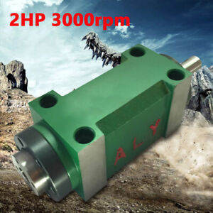 Spindle Unit 3000rpm Power Head Lever For Cnc Drilling Milling Machine 45 Steel