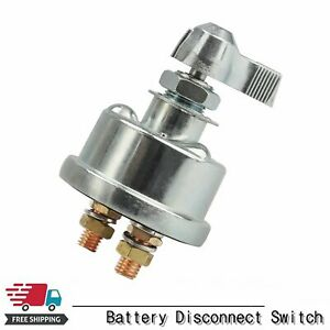 2post Car Racing Master Battery Quick Disconnect Cut shut Off Safety Kill Switch