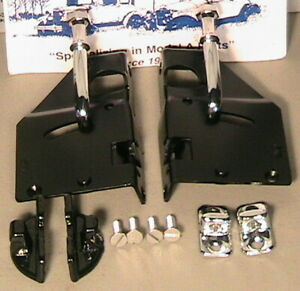 1928 early 1929 Model A Ford Roadster And Roadster Pickup Deluxe Door Latch Set