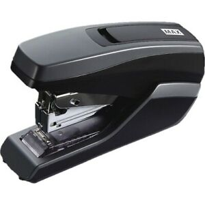 Max Usa Stapler 35 sheet Half Strip 1 3 5 wx5 1 10 lx3 2 5 h gybk