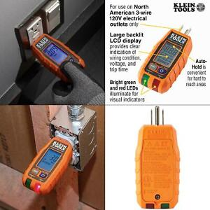 Gfci Receptacle Tester With Lcd
