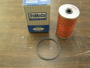 Nos Oem Ford Fuel Pump Filter Galaxie Mustang Fairlane Truck 1964 1965 1966 1967