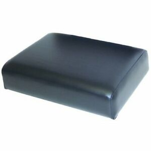 Seat Cushion Wood Backed Vinyl Black Compatible With John Deere 820 720 830 730
