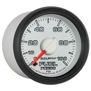 Autometer Factory Match 52 4mm Full Sweep Electronic 0 100 Psi Fuel Pressure Gau