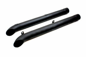 Dougs Headers Side Pipes Black pair D930 b