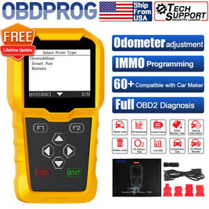 Car Obd Add Key Fob Programming Mileage Correction Odometer Diagnostic Scan Tool