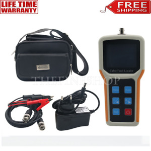 Handheld S 600am Tdr Cable Fault Locator 2km Fast Tester Speed Accurate Test New