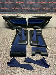 2006 Pontiac Gto Oem Blue Interior Set Door Panels Console Knee Panel Glove Box
