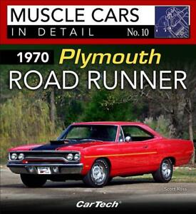 1970 Plymouth Road Runner Book muscle Cars In Detail No 10 road Runner Mopar new