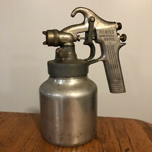 Vtg Binks Spray Gun Model 35 Touch up Paint Sprayer Can Made Usa