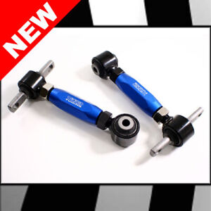 Blue Wicked Brand Rear Camber Arms For 88 00 Civic 88 91 Crx 93 97 Del Sol