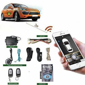 Universal Remote Start For Car Engine Keyless Entry Pke Automatic Central