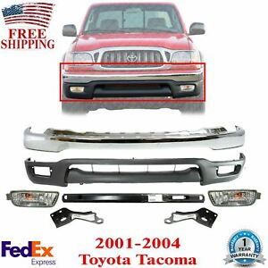 Front Bumper Chrome Valance Rein Signal Bracket For 001 04 Toyota Tacoma