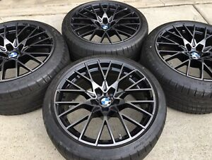 4 New 2020 19 Oem Bmw M2 Competition 788m Forged Wheels Rims Tires M3 M4 F87 M