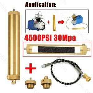 Pcp Compressor Oil water Separator Air Filter 30mpa 4500psi High Pressure Pump