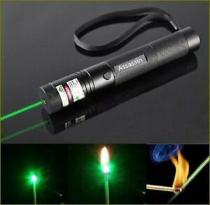 990mile 532nm 303 Green Laser Pointer Visible Beam Light Lazer Pen 2safety Key