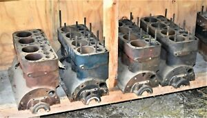 Antique Ford Model A Car Part Engine Block Nice Serials
