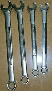 Craftsman Professional 4 Pc Quick 12 Pt Wrenchs 16mm 14mm 12mm 11mm Usa