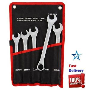 X Large Combination Metric Wrench Set Oversized Bolts Nuts 20 21 22 23 24 Mm